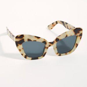 Free People x I SEA Extreme Cat Eye Sunglasses